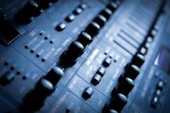 Console de mélange sonore Images stock