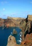 Console de Madeira - louren?o de ponta de sao fotografia de stock royalty free