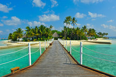 Console de Maldives Imagens de Stock