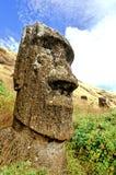 Console de Moai- Easter Fotografia de Stock Royalty Free