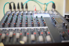 Console de musique Photo stock