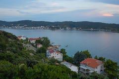 Console de Rab, Croatia Foto de Stock Royalty Free