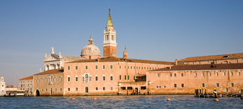 Console de San Giorgio Maggiore, Veneza, Italy Imagem de Stock