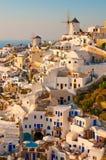 Console de Santorini Fotos de Stock Royalty Free