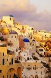 Console de Santorini Imagens de Stock Royalty Free