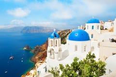 Console de Santorini, Greece fotografia de stock
