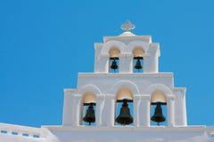 Console de Santorini, Greece Imagens de Stock Royalty Free