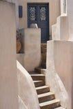 Console de Santorini, Greece Imagens de Stock