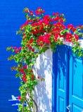Console de Santorini, Greece Foto de Stock Royalty Free