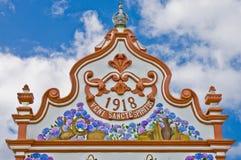 Console de Terceira, Açores, Portugal Foto de Stock Royalty Free