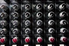 Console del miscelatore professionale - musica, concerto Immagini Stock
