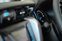 Console dell'automobile Fotografia Stock Libera da Diritti