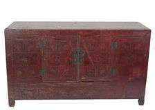 Console di legno solido Fotografia Stock Libera da Diritti
