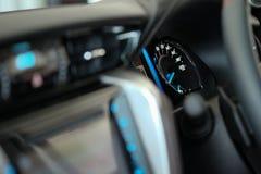 Console do carro Fotografia de Stock Royalty Free