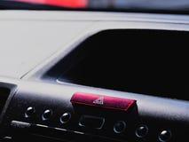 Console do carro imagens de stock