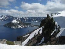 Console do feiticeiro - lago crater Fotografia de Stock Royalty Free