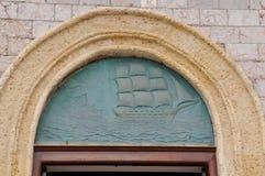Console do Hydra, Greece Fotos de Stock Royalty Free