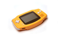 Console do jogo de computador portátil Fotografia de Stock