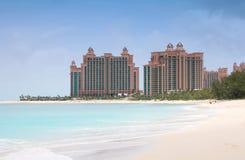Console do paraíso, Bahamas fotografia de stock