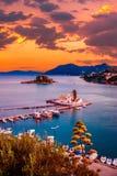 Console do rato, Corfu, Greece imagens de stock royalty free