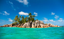 Console do St. Pierre, Seychelles Fotos de Stock