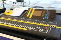 Console du DJ Photo libre de droits