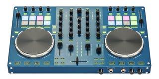 Console du DJ, rendu 3D Images stock