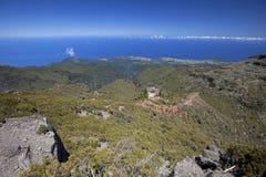 Console e Oceano Atlântico de Madeira Imagem de Stock
