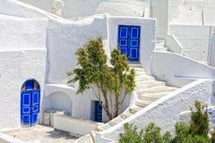 Console Greece de Santorini fotografia de stock
