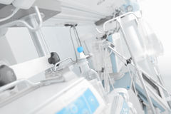 Console in the intensive care unit Stock Photos
