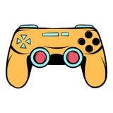 Console joystick icon cartoon Royalty Free Stock Photography