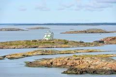 Console klintar de Kobba Ilhas de Aland Fotos de Stock Royalty Free