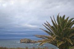 Console mediterrâneo recolhido fotografia Córsega Fotos de Stock Royalty Free