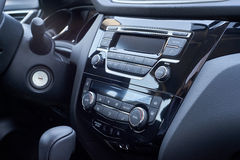 Console panel of the car Stock Photo