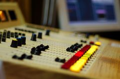 Console par radio Photographie stock