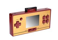 Console portátil do jogo video fotografia de stock royalty free