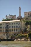 Console San Francisco Bay de Alcatraz Fotos de Stock