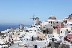 Console Santorini, Greece Foto de Stock Royalty Free