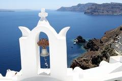 Console Santorini, Greece Foto de Stock