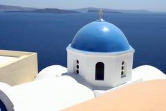Console Santorini, Greece Imagem de Stock