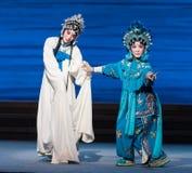 """Console seu  branco de Opera""""Madame Snake†da irmã-Kunqu Imagem de Stock Royalty Free"""