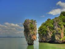Console Tailândia de James Bond Foto de Stock Royalty Free