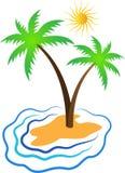 Console tropical Imagens de Stock