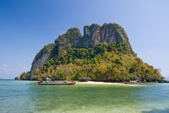 Console tropical do mar de Andaman Fotografia de Stock Royalty Free