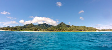 Console tropical do paraíso Imagem de Stock Royalty Free
