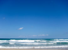 Console tropical do St Maarten da praia Fotografia de Stock