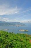 Consoles de Borromean, Isola Bella, lago Maggiore Imagens de Stock