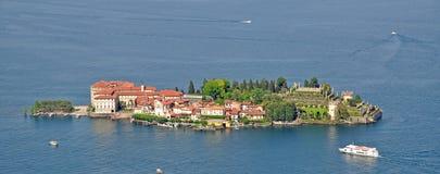 Consoles de Borromean, Isola Bella, lago Maggiore Imagem de Stock Royalty Free