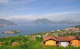 Consoles de Borromean, Isola Bella, lago Maggiore Fotografia de Stock