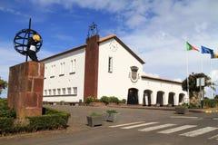 Consoles de Madeira - cidade salão de Santana Imagens de Stock Royalty Free